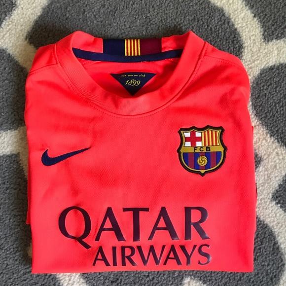 9884150fc Boys FC Barcelona jersey. M 5b3551b42e147818d08553bd